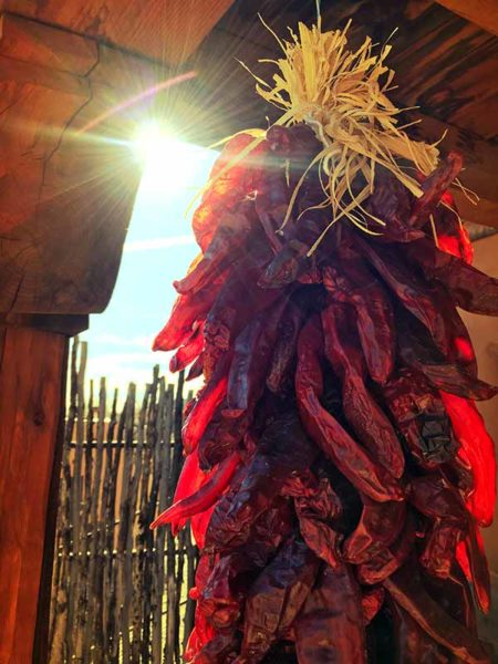 Roasted Chiles New Mexico Cuisine