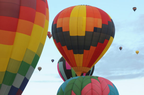 Balloon Fiesta New Mexico Retiree
