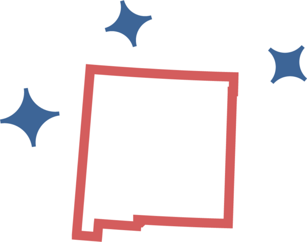 New Mexico Business Location Map