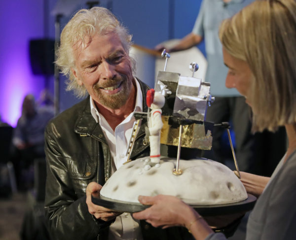 Richard Branson celebrates his 69th birthday and the Apollo 11 mission