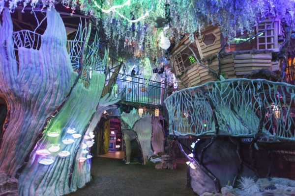 Meow Wolf's The House of Eternal Return central area