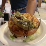 Oso Grill's Green Chile Cheeseburger