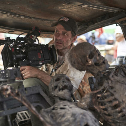 "Zack Snyder films a scene for ""Army of the Dead."" The project filmed in Albuquerque at Netflix Studios.  Photo Credit: Netflix Via ABQ Journal"
