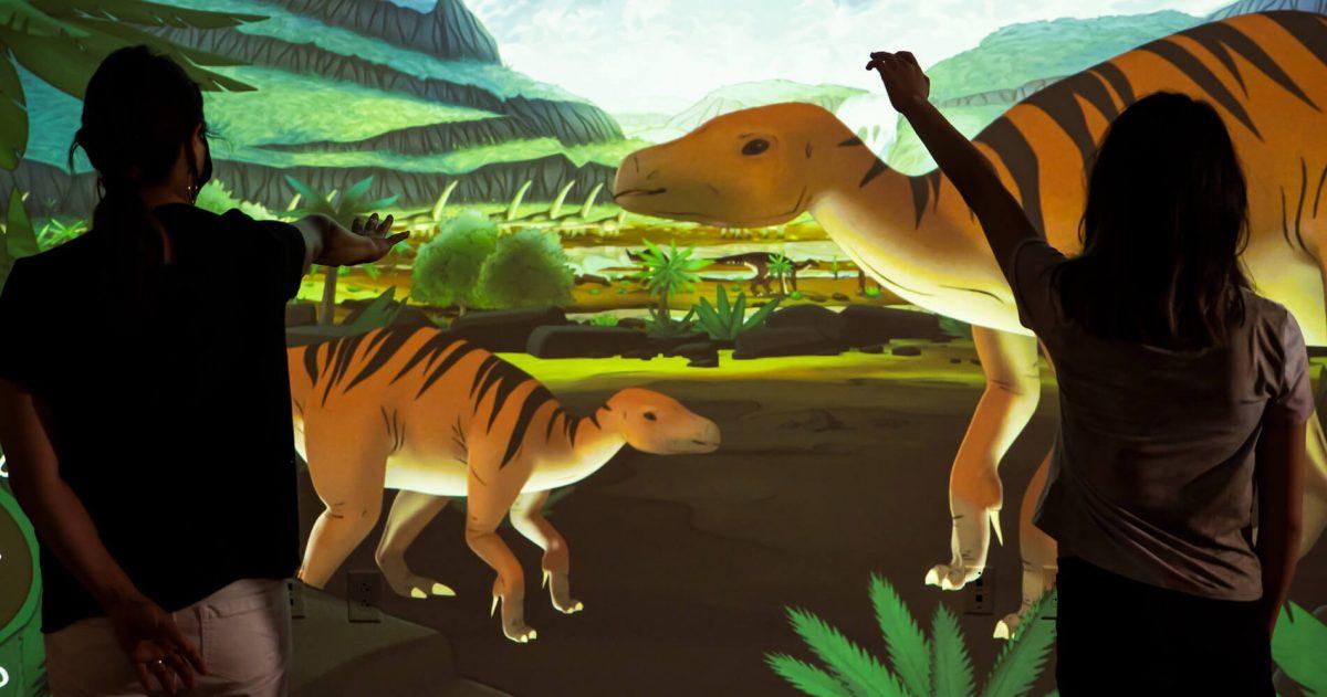 Ideum Digital Dinos Exhibit